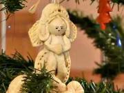 Vianočné ozdoby zo slaného  cesta