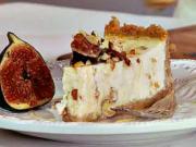 Vianočný cheesecake - recept na cheescake s figami