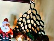 Vianočný stromček z rolky toaletného papiera (DIY)