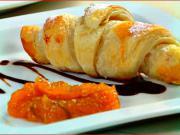 Croissant z listkového cesta - recept