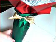 Ako zabaliť darček - víno alebo iná fľašu