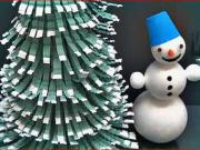 Vianočný stromček z plastovej fľaše