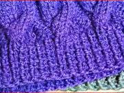 Pletení - Patentový vzor