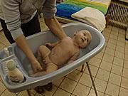 Kúpanie bábätka - ako kúpať bábätko