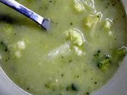 Brokolicová polievka - recept na brokolicovú polievku - Brokolicová krémová polievka