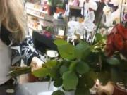 Ako viazať kvety do špirály - postup