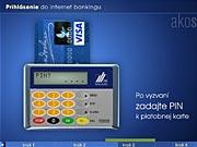 Karta a čítačka: ako sa prihlásiť do Internet bankingu