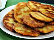 Zemiakové placky - recept na zemiakové placky