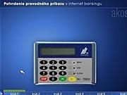 Karta a čítačka: ako potvrdiť prevodný príkaz v Internet bankingu