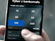 Výber z bankomatu Tatrabanka