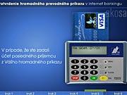 Karta a čítačka: ako potvrdiť hromadný prevodný príkaz v Internet bankingu