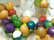 Veľkonočné vajíčka - tip na netradičné zdobenie