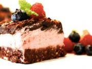 Čokoládový RAW koláč - nepečený a zdravý koláč