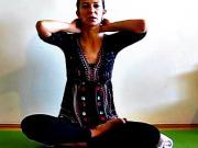 Joga - cviky na krčnú chrbticu