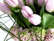 Kytica z tulipánov - jarná kytica