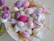 Velikonoční vajíčka - jak ozdobit velikonoční vajíčka
