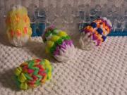 Veľkonočné vajíčko z gumičiek