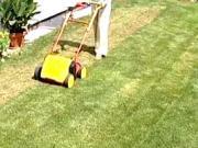 Prevzdušňovanie trávnika - vertikutácia