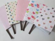 Zápisník - ako vyrobiť mini zápisník - diár