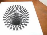 Jak nakreslit díru - optická 3D iluze - anamorfóza