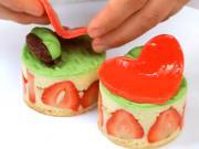 Jahodové tortičky - recept