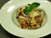 Rizoto - recept  na zeleninové rizoto s parmezánovou hoblinou