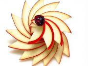 Ako nakrájať jablko do špirály