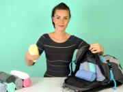 Skládání trička - jak poskládat trička na dovolenou