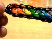 Náramok z točených gumičiek