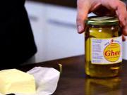 Jaké tuky patří do kuchyně -máslo ghee a jiné tuky - recept na ghee