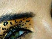 Leopardie líčenie - líčenie na halloween
