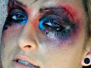 Módny výbuch make-upu - líčenie na halloween