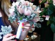Svadobná kytica do držiaka - ako na to