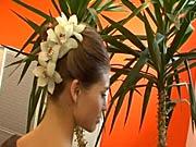 Vlasový výčes s kvetmi - Ako si urobiť vlasový výčes so živými kvetmi - Účes do spoločnosti 1