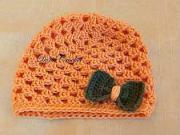 Háčkovaná detská čiapka - ako uháčkovať čiapku
