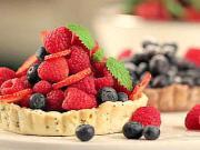 Mini košíčky s chia a lesním ovocem - recept