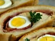 Zapečené chlebíčky - recept na chlebíčky z kysnutého cesta