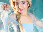 Ako ušiť kostým Frozen Elsa - hallowenský kostým Elsy