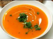 Dýňová krémová polévka - recept