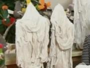 Strašidlá zo sádry - ako si vyrobiť strašidlo na halloween
