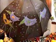 Maľovanie na dáždnik