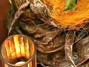 Ztužovač textilu - květináč