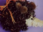 Jesenná dekorácia - ježko