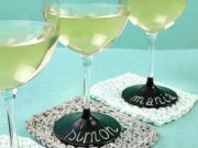 Personalizované poháre - značenie pohárov farbou na tabuľu