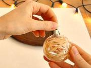 Ako ozdobiť priesvitné vianočné gule