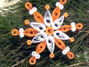 Quilling - vianočná hviezda