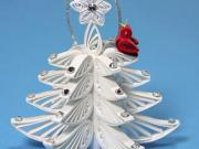 Quilling - Inšpirácie na vianočné dekorácie z quillingu