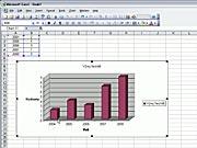 Graf v Exceli - ako vytvoriť graf - 7.diel