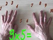 Násobenie na prstoch - Ako jednoducho násobiť na prstoch