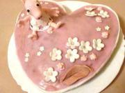 Torta - prasiatko Pepína - torta Peppa pig